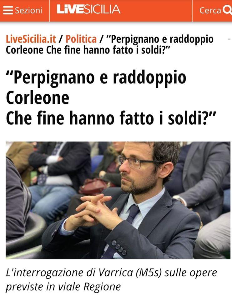 Perpignano e raddoppio Ponte Corleone